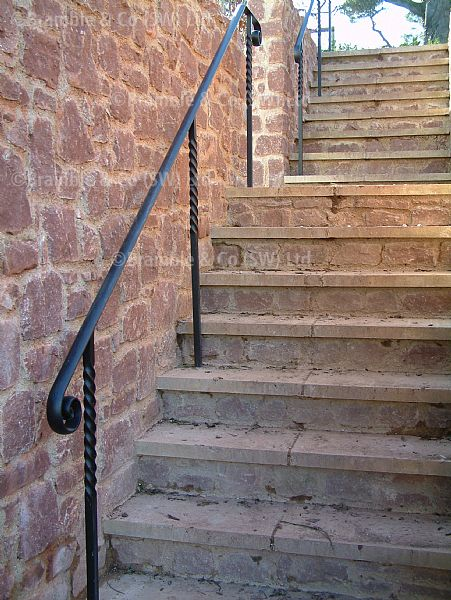 Hand Railings for Steps,wrought iron,Somerset