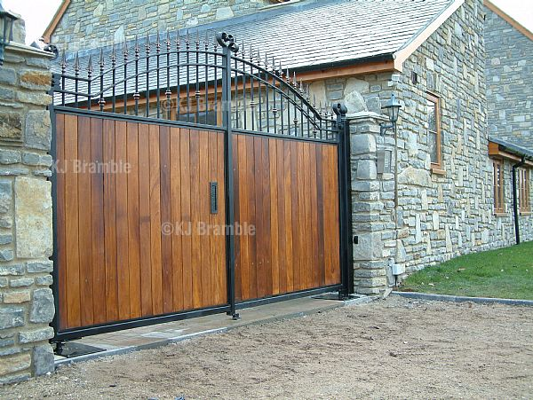 Wooden And Iron Gates Somerset