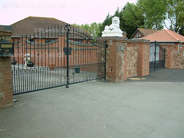 Electric Gates Installers,Somerset and Devon.