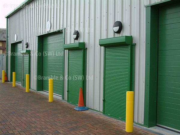 Security Shutters for Industrial Units, Somerset