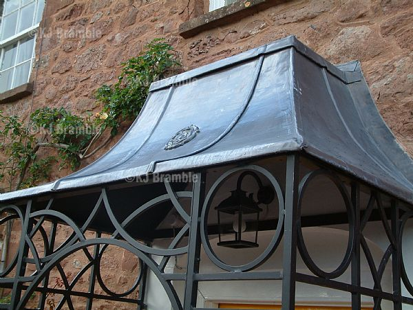 Lead Roof Porch Somerset