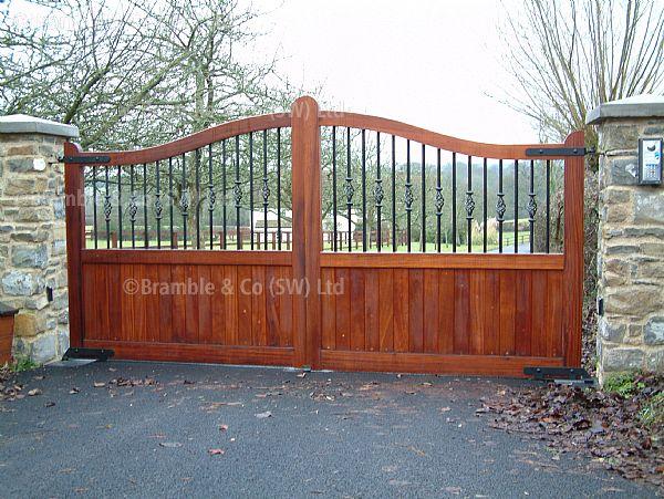 Wooden gates exeter devon