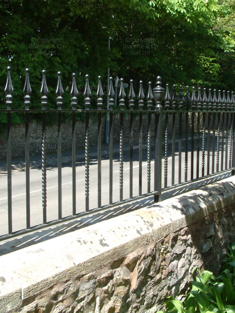 Iron Railings Devon